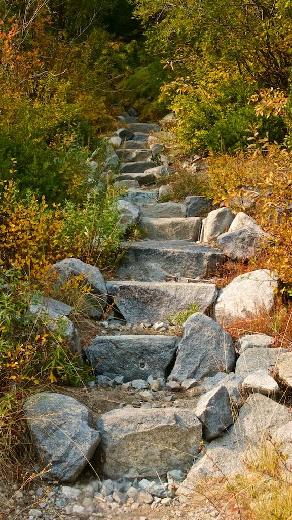 Steps in Trinity Alps Wilderness